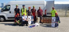Plastic caps from the 'Esvagt Mercator' contribute to training of guide dogs
