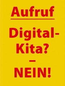 Petition ‹Nein zur digitalen Kita›. Michaela Glöckler und Manfred Spitzer lancieren bildungspolitischen Aufruf