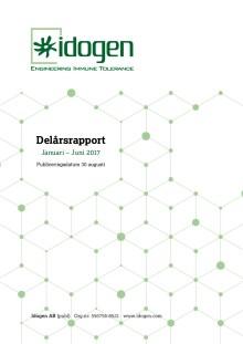 Delårsrapport Januari – Juni 2017