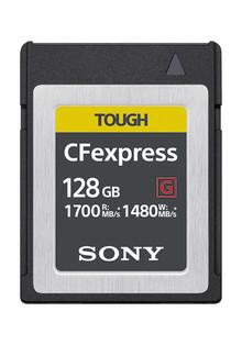 Sony sviluppa la scheda di memoria CFexpress di tipo B con velocità in lettura fino a 1700 MB/s [1] fino a 1480 MB/s[1] in scrittura