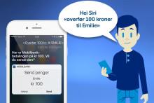 SpareBank 1 Østlandet lanserer talestyrt pengeoverføring