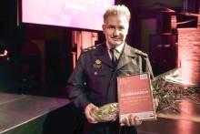 Vuoden johtamisteosta palkittiin Etelä-Pohjanmaan pelastuslaitos