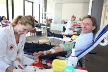 Jeder Tropfen zählt: Blutspendeaktion bei Santander