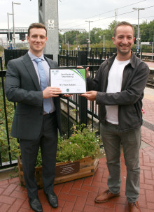 Ally Pally friends rewarded for station efforts