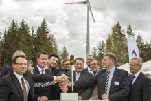 Presseinformation: Windpark 'Tannberg-Lindenhardt' offiziell eröffnet