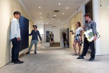 Kunstschau füllt Leerstand in der Kieler Innenstadt mit neuem Leben