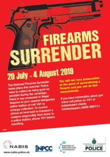Merseyside Police to take part in national firearms surrender