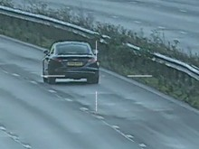 VIDEO: 151mph M23 driver convicted of speeding