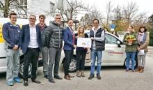 Bayernwerk-Azubis sammeln Spenden und organisieren Mini-Olympiade für die Kinder des Caritas Kinderdorfs Irschenberg