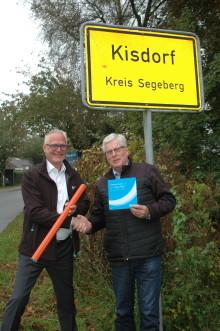 Geschafft – das Glasfasernetz kommt nach Kisdorf
