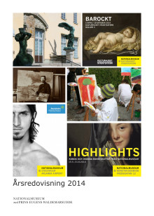 Årsredovisning Nationalmuseum med Prins Eugens Waldemarsudde 2014