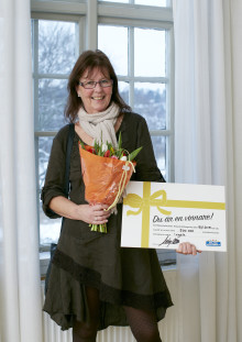 Ingela från Åsa vann 1 miljon på lott från Miljonlotteriet!!