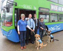 THAMES TRAVEL GIVES GUIDES FOR THE BLIND VOLUNTEER TRAINING PROGRAMME A BOOST