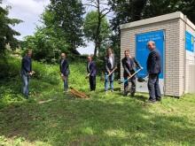 Deutsche Glasfaser startet mit Tiefbauarbeiten im Fördergebiet Saerbeck