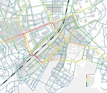 Utredning om gång- och cykelflöden i Mälarporten har levererats
