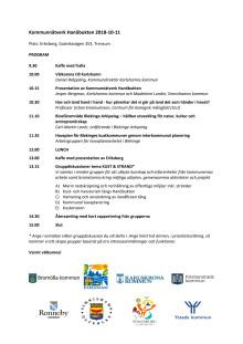 Program kommunnätverk Hanöbukten