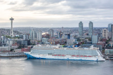 Norwegian Bliss makes history as the largest ship christened in Seattle