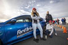 Rekordoppmøte på kjørekurs for unge sjåfører
