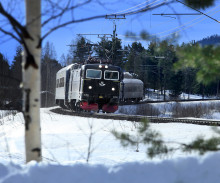 Nyårsresandet till Norrland går som tåget