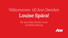 Aon har rekryterat Louise Spåra