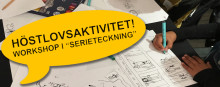 Örebro Seriefestival håller workshops i Frövi och Lindesberg