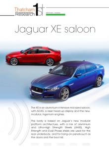 Thatcham 1st : Jaguar XE Saloon 2015