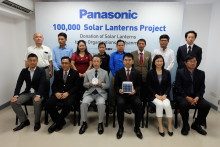 Panasonic Donates 2,400 Solar Lanterns to 9 Humanitarian  & Non-Governmental Organizations in Myanmar