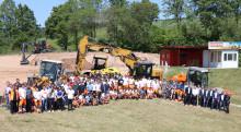 STRABAG-Vorstände zu Gast in der Konzern-Lehrwerkstatt in Bebra