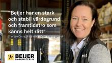 Nu gör Therese sidbyte – ska driva Beijer Byggmaterial på hemmaplan