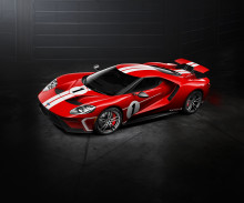 Ford Performance to Offer Tribute Livery of Historic 1967 Le Mans Winner with Ford GT '67 Heritage Edition