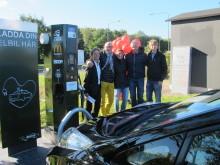 Snabbare elbilsladdning i Helsingborg