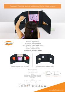 Produktlansering av Freedesks nya produkt Personal Space