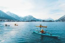 Aufguss, Adrenalin & Trockenanzüge – Winterliche Touren auf dem Wasser