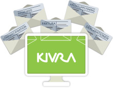 Att skriva om Kivra på webben, i bilagor mm.
