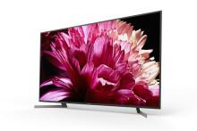 Os icónicos televisores LED Full Array 4K HDR da série XG95 da Sony estarão disponíveis brevemente