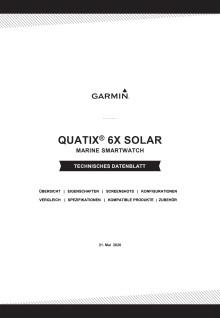 Datenblatt quatix 6X Solar