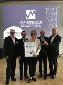 burgbad erhält Südwestfälischen Marketing-Preis