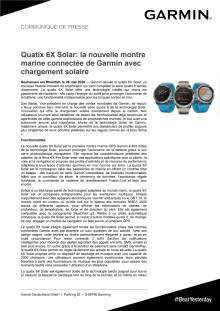 CP Garmin quatix 6X Solar