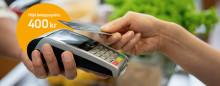 Kontaktlösa betalningar ökar mer i coronavirusets spår  – och beloppsgränsen höjs till 400 kr