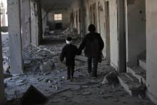 Ny rapport från krigets Syrien: Barndom under belägring