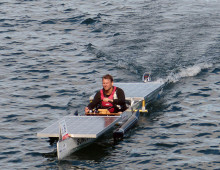 1. Wildauer Solarboot-Regatta am Sonnabend, dem 5. September 2015