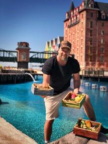 Den danske tv-kokken Brian Bojsen bringer den skandinaviske livsstilen med seg til det nye Europa-Park-hotellet Krønasår