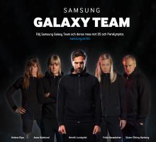 Samsung Nordic lanserar Samsung Galaxy Team Sverige