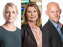 Nya i Stora Journalistprisets jury: Matilda E Hanson, Charlotta Friborg och Jörgen Huitfeldt