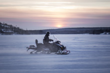 ​Hurtigruten introduces battery powered snowmobiles