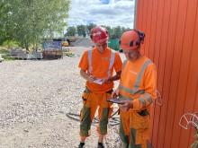 Karlstad bygger bro över Örsholmsälven och arbetet utgår helt från digitala ritningar