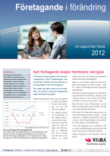 Företagande i förändring 2012