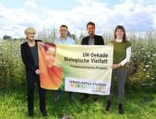 """Projekt """"Bunte Biomasse"""" erhält Auszeichnung der UN-Dekade Biologische Vielfalt"""