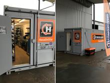 Hydroscand öppnar tillfällig butik i väntan på den nya lokalen i Vetlanda