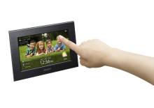 Nuova cornice S-Frame Wi-Fi di Sony: una collezione fotografica a portata di mano